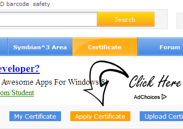 how to get certificate to sign unsighed symbian apps