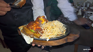 Om Ganpati Restaurant || Russel Street || Park Street || Review