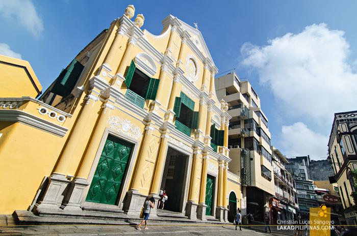 Unesco St. Dominic Church Macau China
