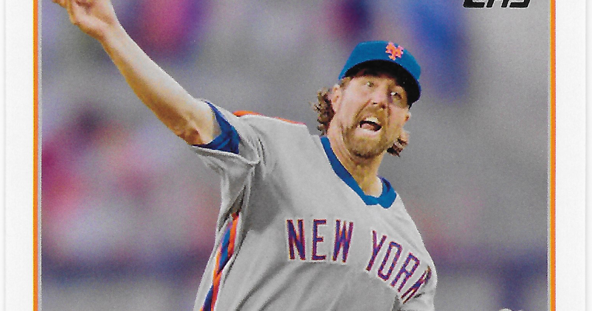 dae859430 The Sea Turtle Cards   43 - R.A. Dickey