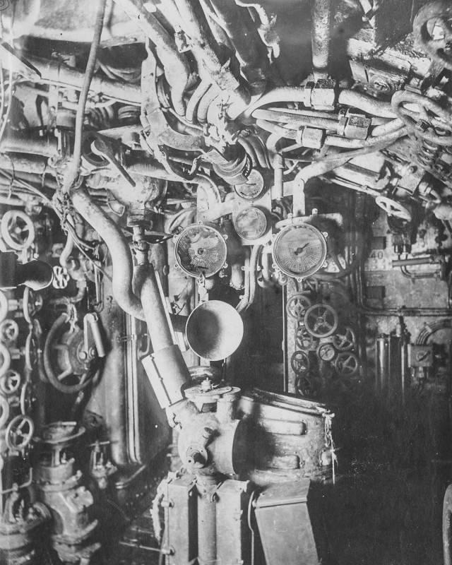 Ini Cool - Ruang Kabin Kapal Selam German Tahun 1917