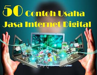 50 Contoh Usaha Jasa Internet Digital