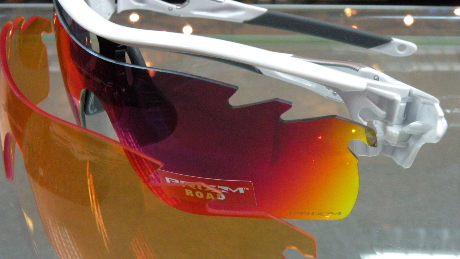 Oakley Radarlock PRIZM ROAD Persimmon Lenses Interchangeable