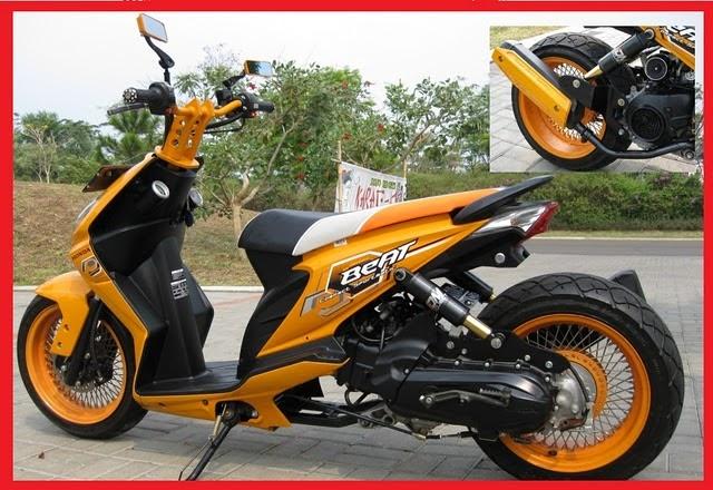 MOTORCYCLE GALLERY Modification Honda beat  Honda BeaT