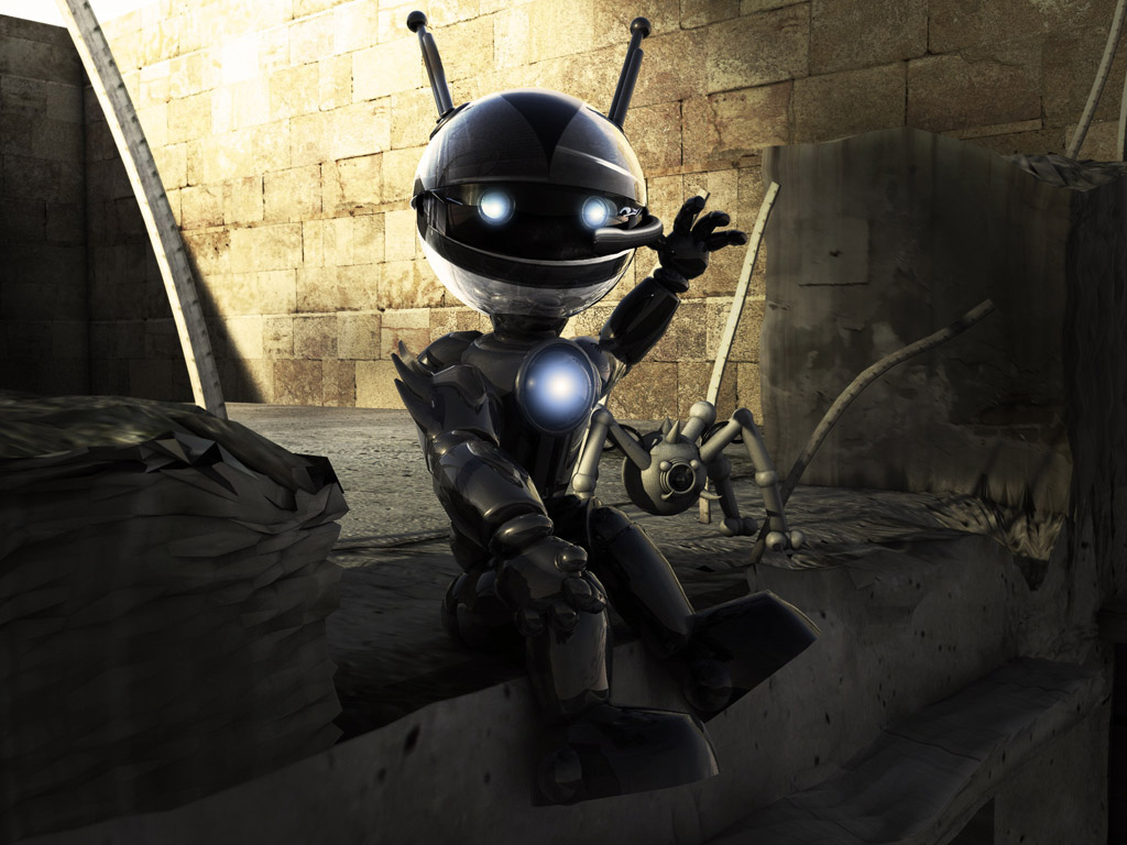 Cute Robot Wallpaper | Top HD Wallpapers