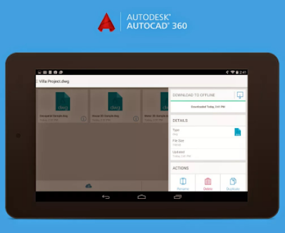 Cara Download AutoCAD 360 Apk Pro Full Version Update