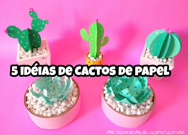cactos de papel