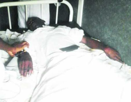 Lagos Pastor Cries Out... I Was Beaten By Assistant Police Commissioner Eze