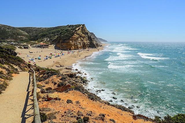 Praia do Julião em Lisboa