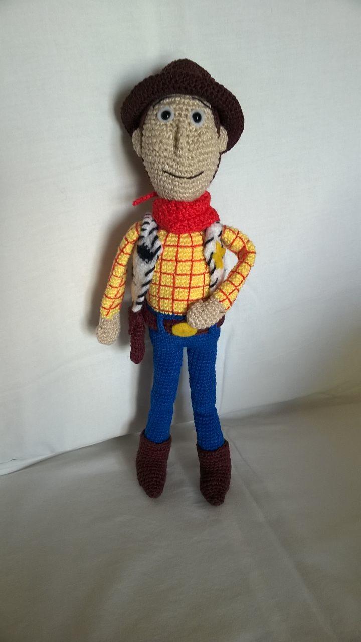 Tutorial Woody Amigurumi Toy Story Crochet| PART 1 | Lanas y ... | 1280x720