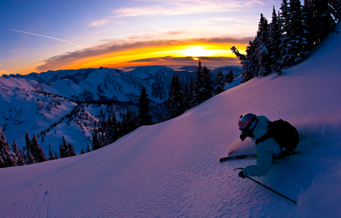 Extreme Skiing Wallpaper: Free Best Pictures: Winter Orange Sports Extreme Sports