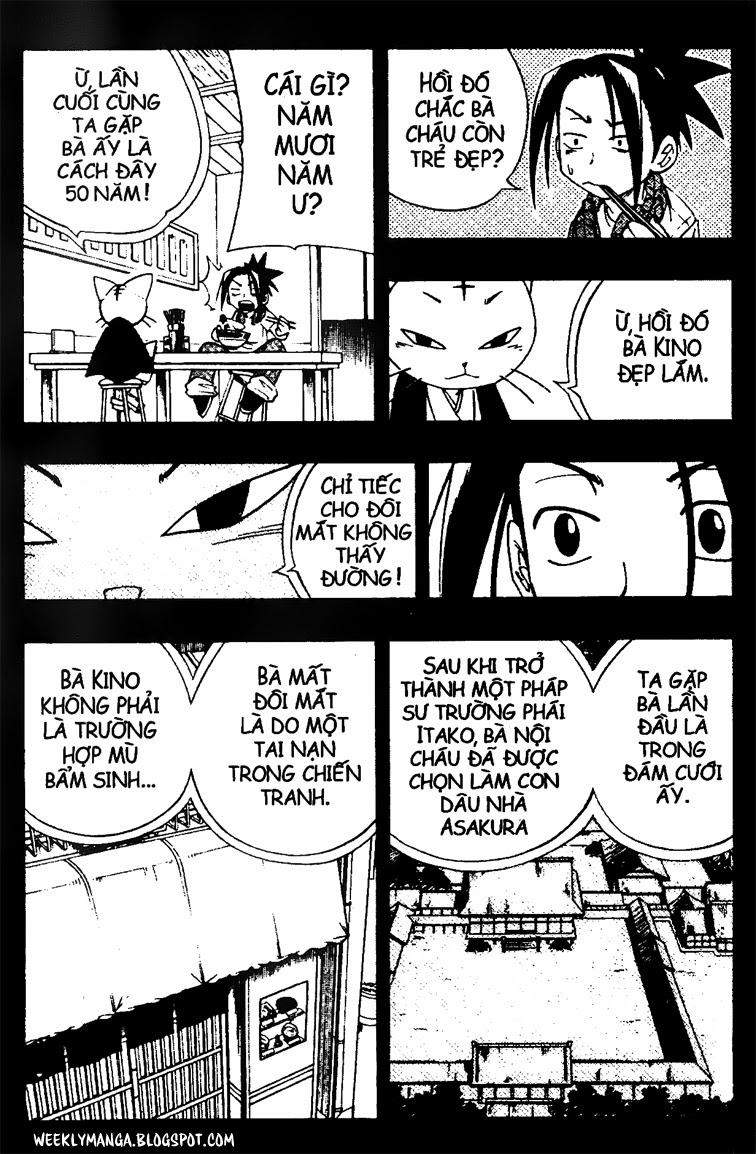 Shaman King [Vua pháp thuật] chap 164 trang 18