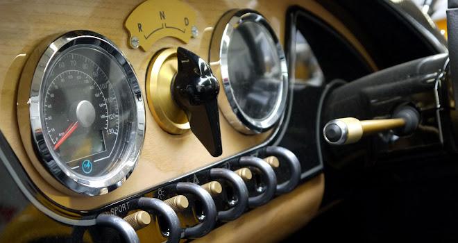 Morgan EV3 dashboard