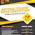 Formulir Pendaftaran National Student Paper Competition