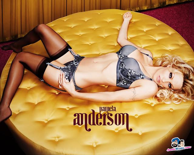 Pamela Anderson Sexy Wallpaper
