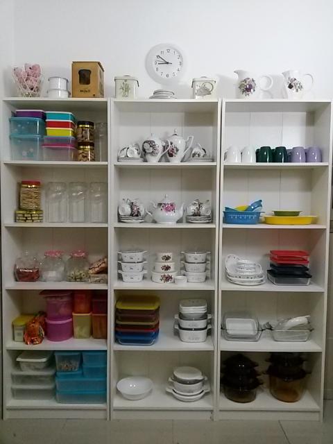 Memandangkan Ahli Keluarga Pun Tak Ramai Rak2 Ini Memang Sesuai Untuk Kegunaan Di Dapur Rumah Ky Barangan Yang Guna Kecil2 Saja