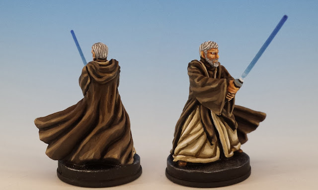 Obi-Wan Kenobi, Imperial Assault (2016), painted miniature