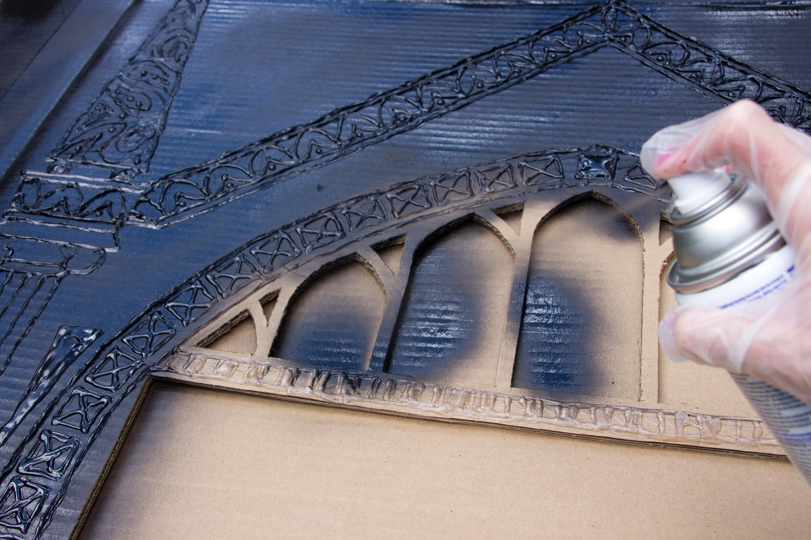 Delicious Reads DIY Harry Potter Cardboard Mirror of