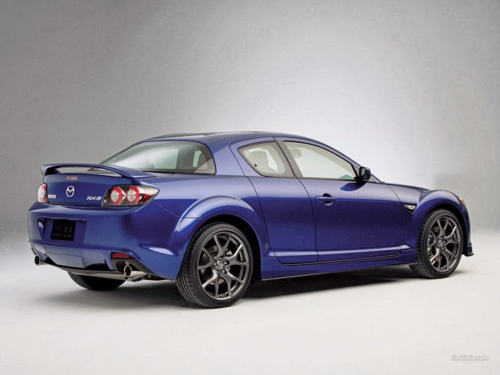 New Blue Mazda Rx8 Hd Wallpaper Sport Car Pictures