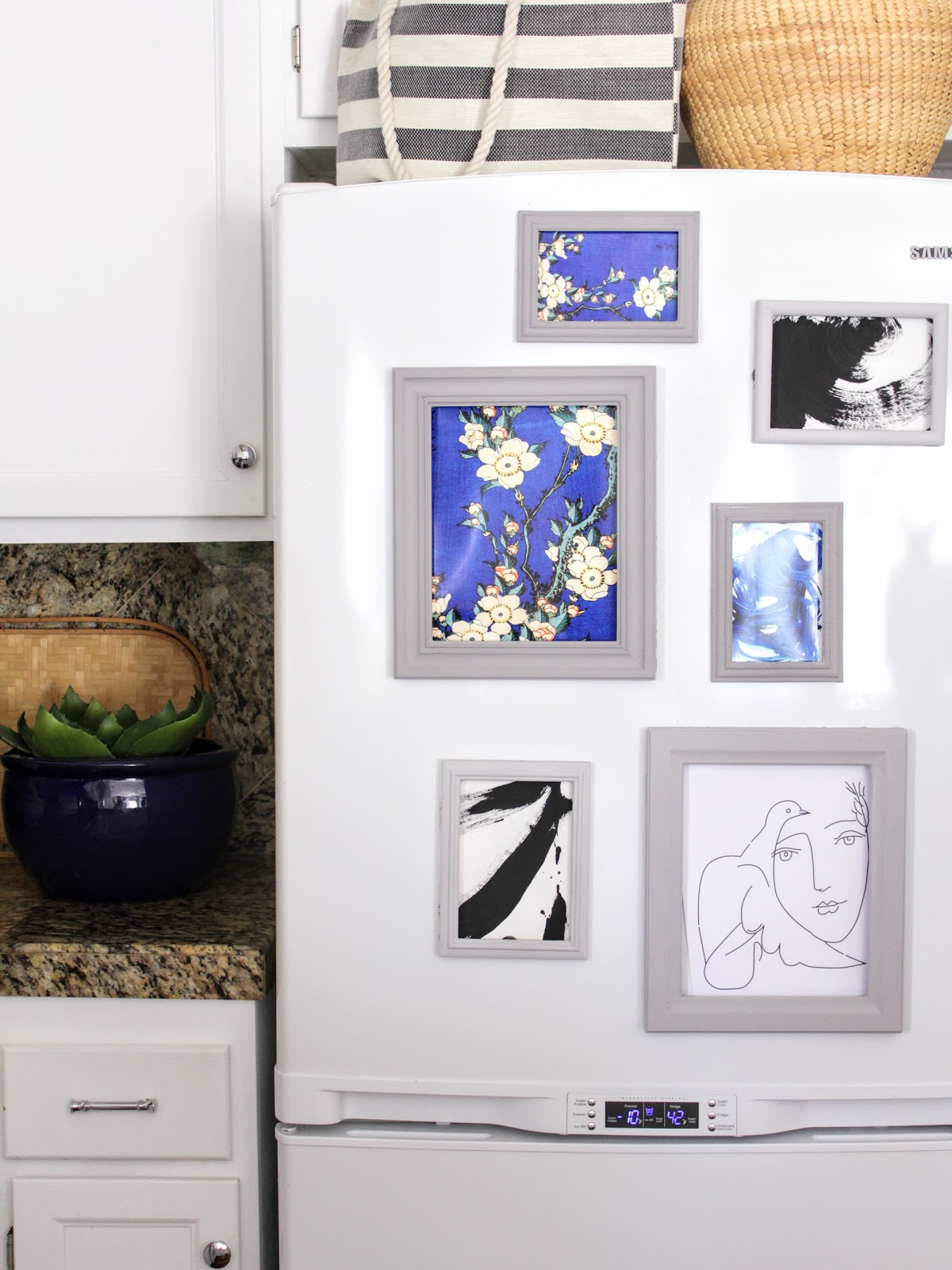 Oscar Bravo Home Diy Magnetic Fridge Frames