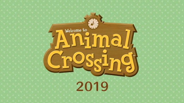 Welcome to Animal Crossing 2019 Nintendo Switch logo