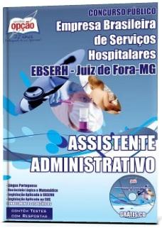 Apostila EBSERH-MG Assistente Administrativo