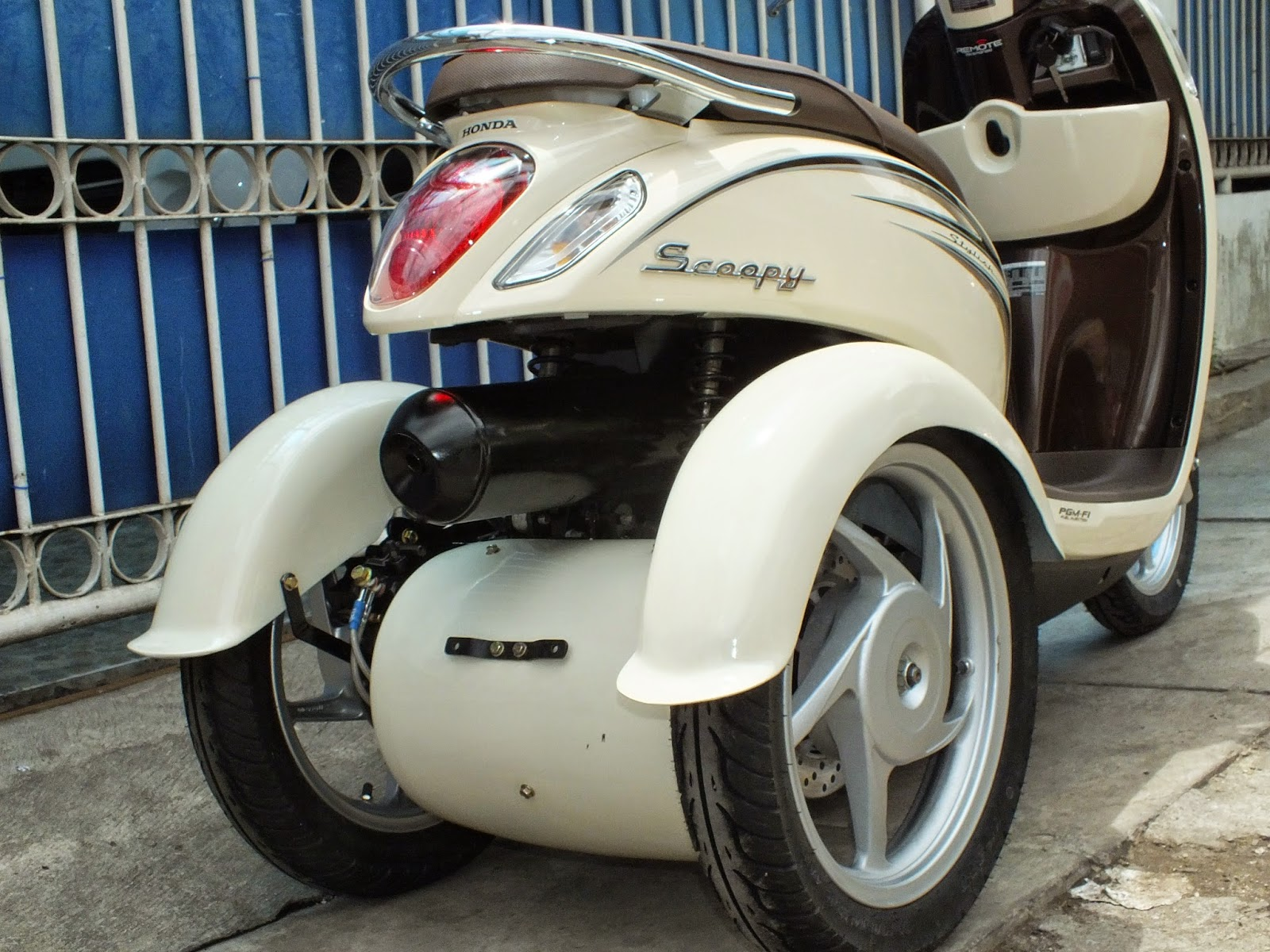 Oracle Modification Concept HONDA SCOOPY FI Roda 3 Pesanan Mrs LIA