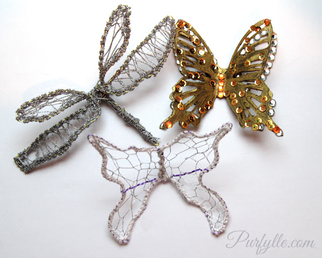 Make your own sparkly fairy wings!