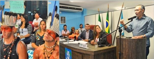Macaíba avança para ter sua primeira escola indígena