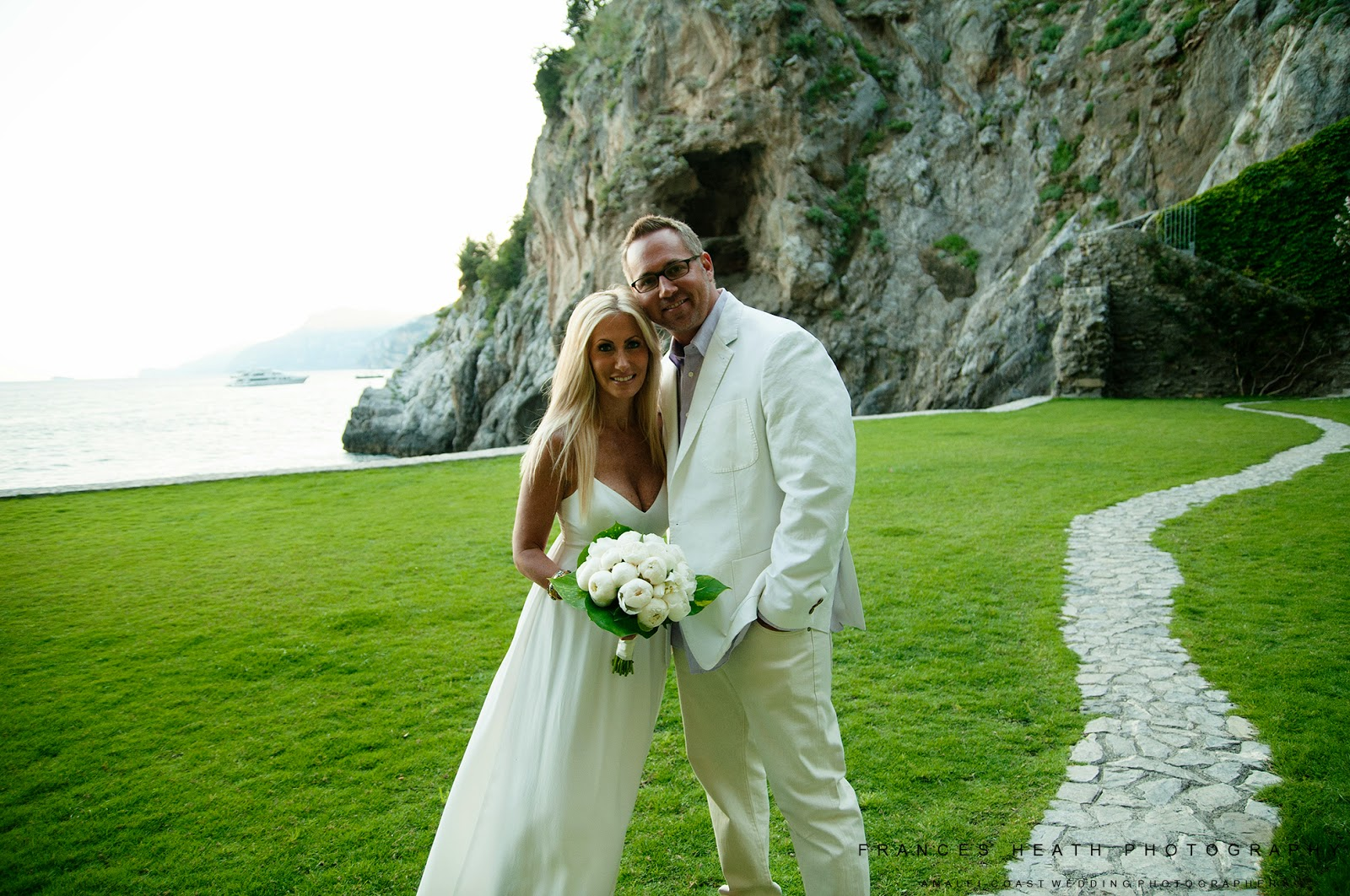 Vow renewal at Hotel San Pietro in Positano