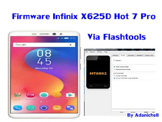 Firmware Infinix X625D Hot 7 Pro