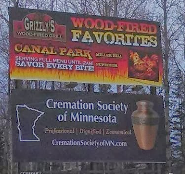 wood fired cremation savour every bite funny sign position fail