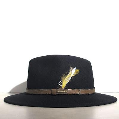 chapeau Stetson en feutre noir femme