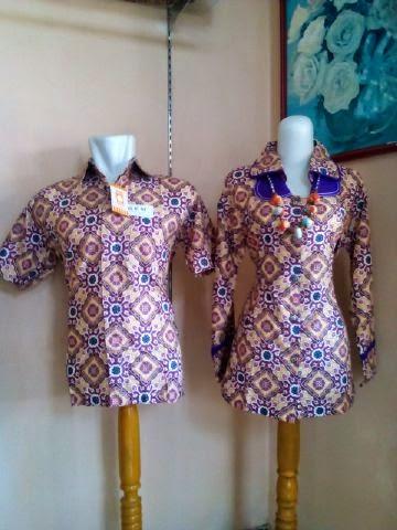 BSC Aneka Model Trend Baju Batik Modern Pria Wanita