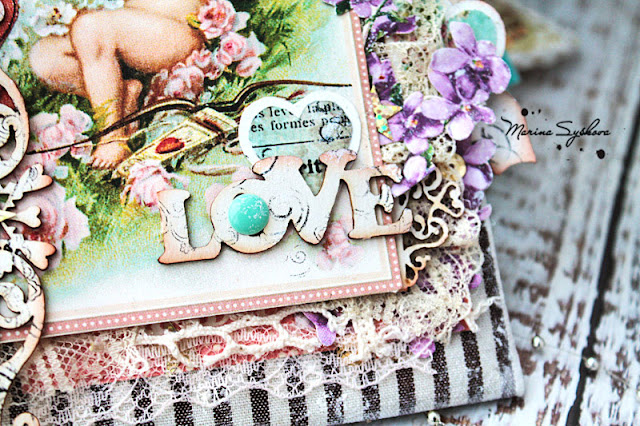 @marinasyskova #scrap #scrapbooking #graphic45 #card #cardmaking #valentinesday #love