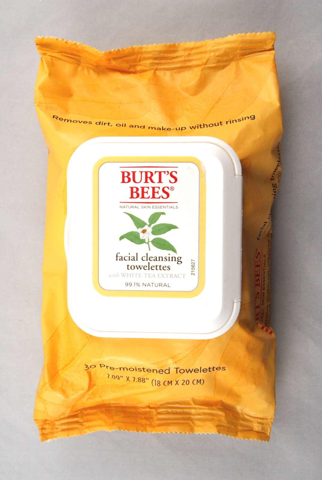 Facial Cleansing Towelettes - Peach & Willowbark Exfoliating by Burt's Bees #17