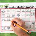 Elf on the Shelf Calendar