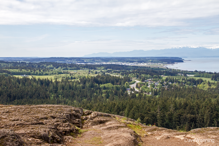 North Whidbey Island from the Goose Rock Summit