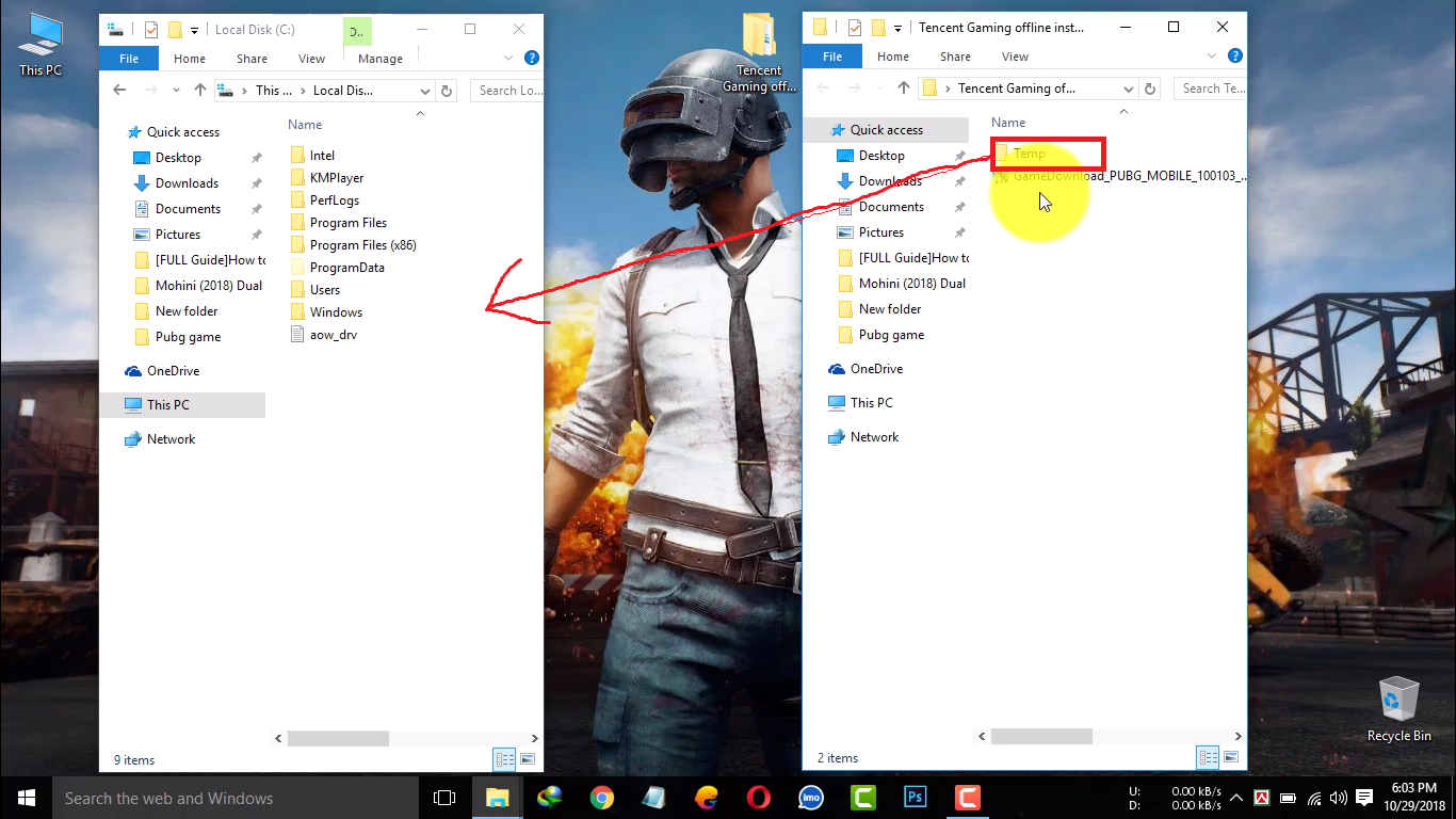 How to install tencent gaming buddy offline installer on pc