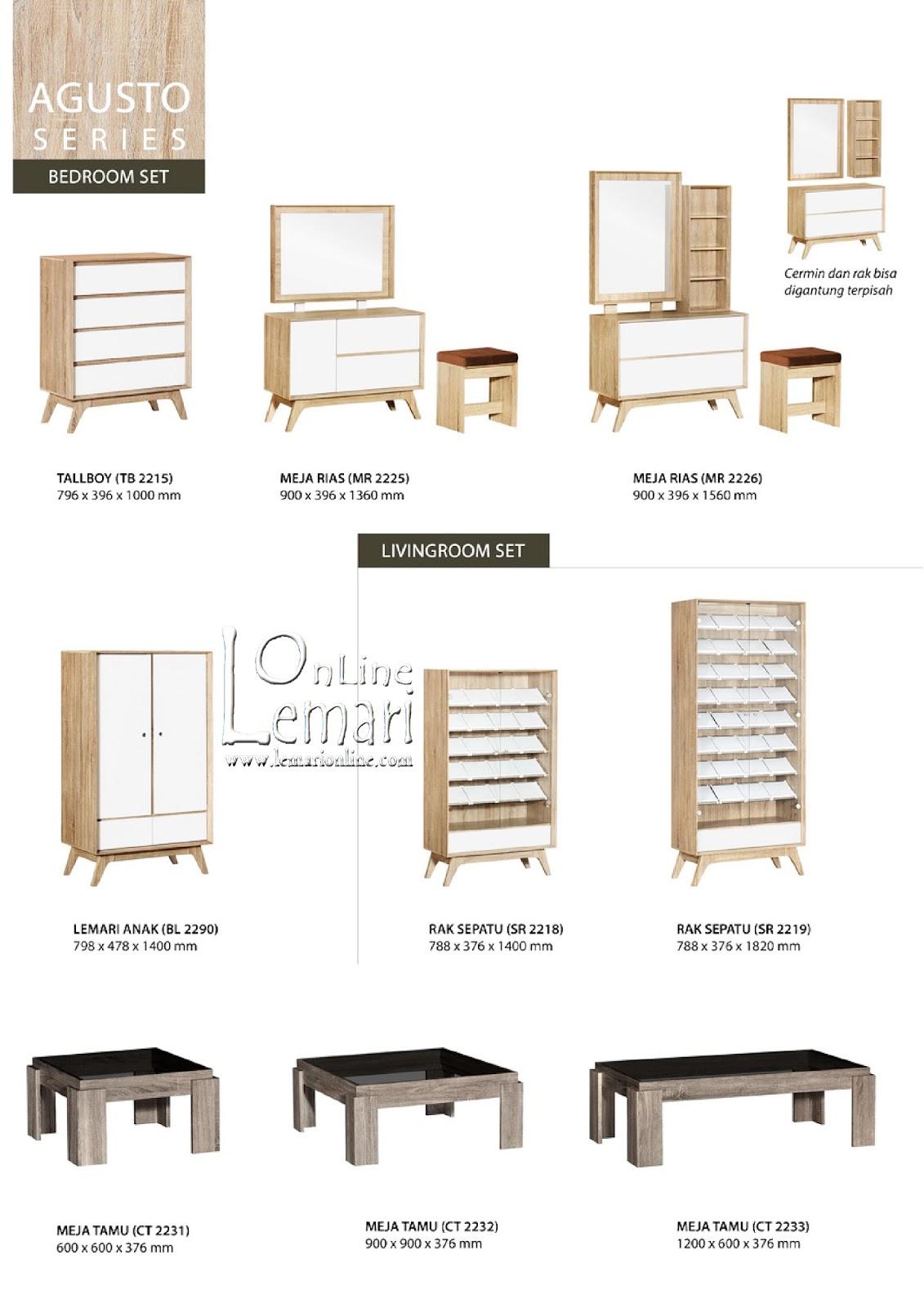 Graver Furniture Meja Rias Mr 92262 Daftar Harga Terkini Fcenter Siantano 905 Jawa Tengahdiyjawa Timur Agusto Series