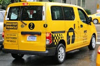 Nissan minivan - the winner of Taxi of Tomorrow contest
