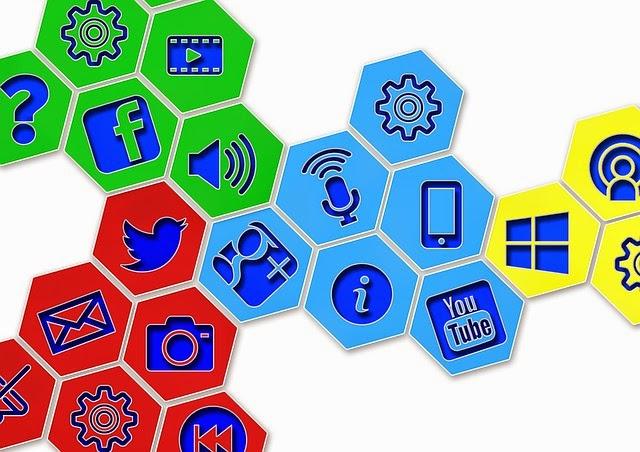 Redes Sociais Divulgação Blog