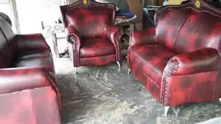 ganti kulit sofa bekasi