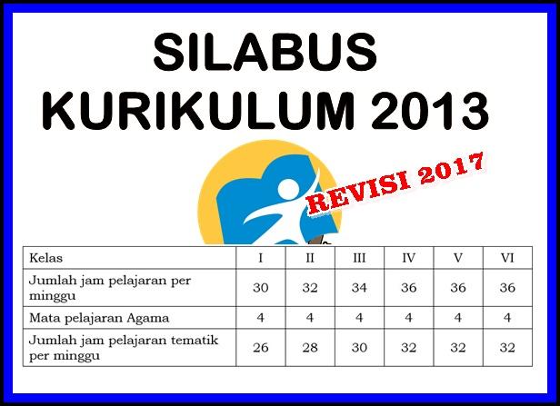 Silabus Prota dan Promes Kelas 5 Kurikulum 2013 Revisi 2017