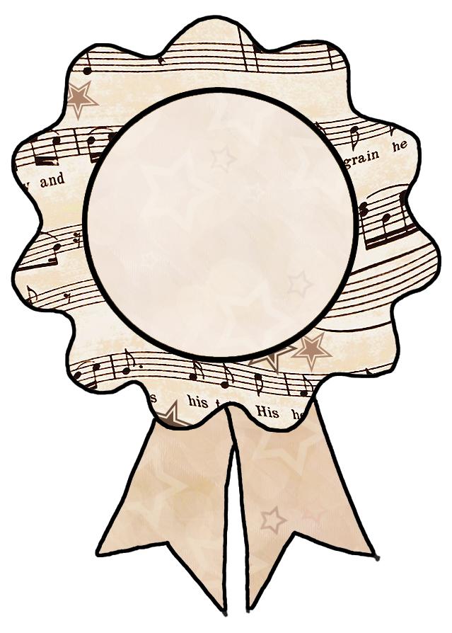 ArtbyJean - Vintage Sheet Music: Labels and text ribbons ...