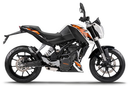 Review KTM Duke 125