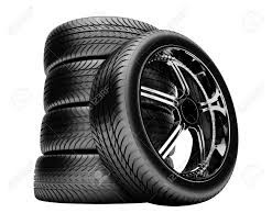 Treads on tyres