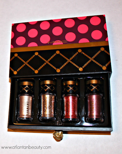 M.A.C Nutcracker Sweet Gold Pigments and Glitter Kit