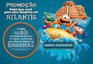 Promoção PBKIDS Aventura em Atlantis com o Pebê