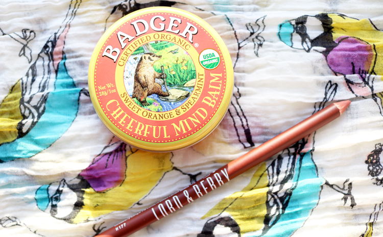 Badger Cheerful Mind Balm review